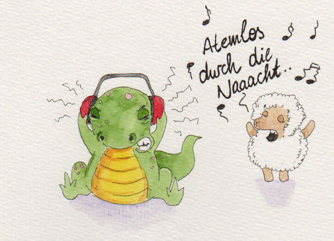 365-Tage-Doodle-Challenge - Stichwort: Ohrenschützer