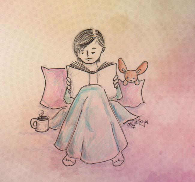 365-Tage-Doodle-Challenge - Stichwort: Wellness