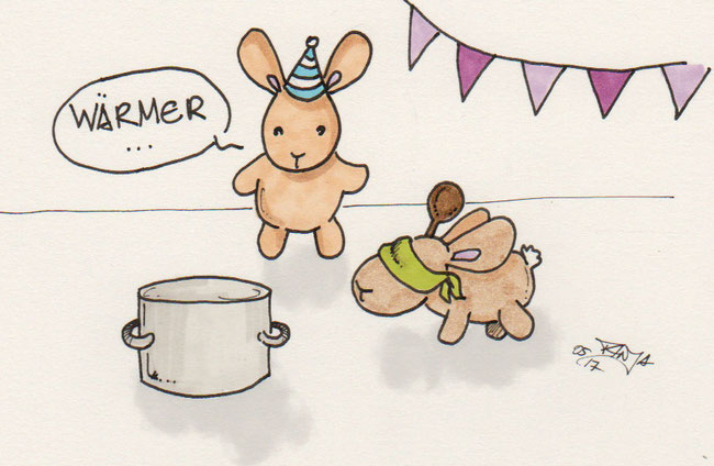 365-Tage-Doodle-Challenge - Stichwort: Kochtopf