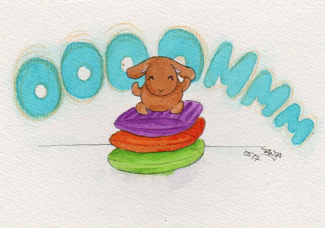 365-Tage-Doodle-Challenge - Stichwort: Sofakissen