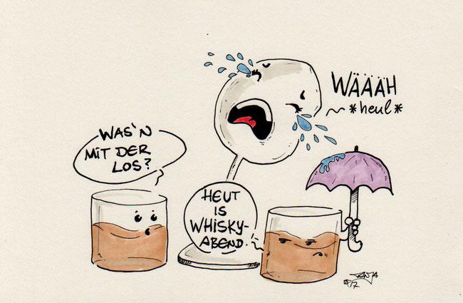 365-Tage-Doodle-Challenge - Stichwort: Weinglas