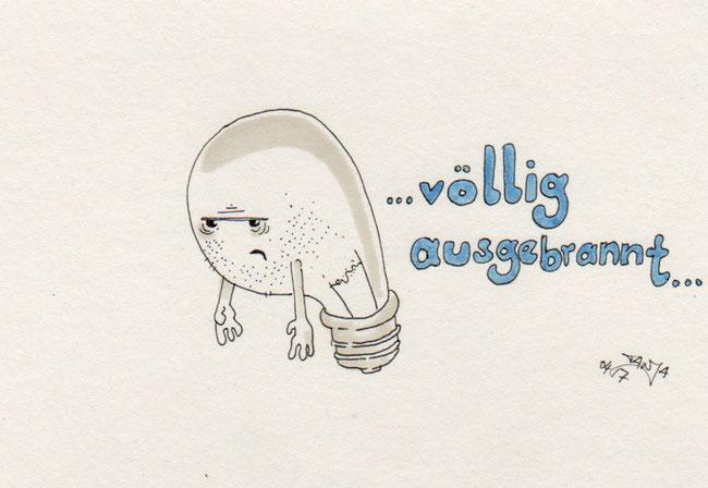 365-Tage-Doodle-Challenge - Stichwort: Glühbirne