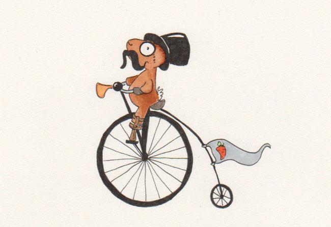 365-Tage-Doodle-Challenge - Stichwort: Fahrrad