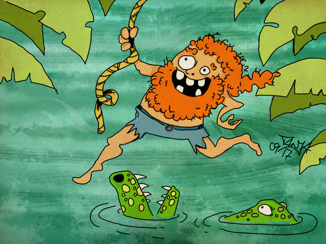 365-Tage-Doodle-Challenge - Stichwort: Dschungel