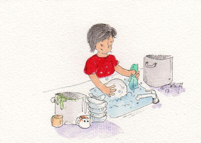 365-Tage-Doodle-Challenge - Stichwort: Geschirrspülmaschine