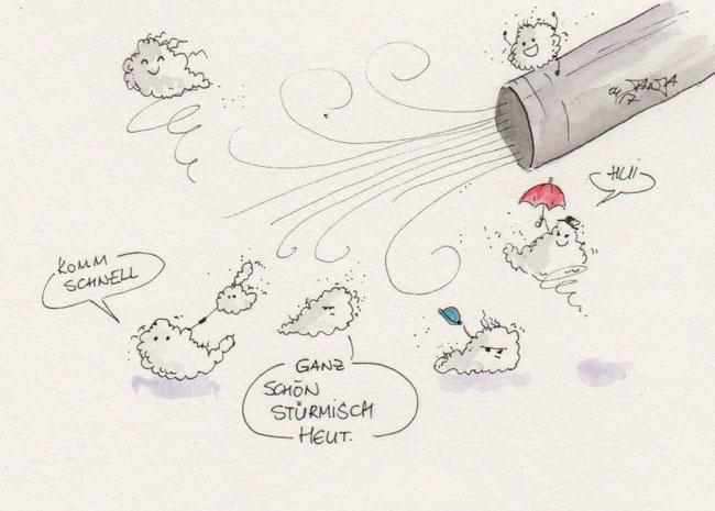 365-Tage-Doodle-Challenge - Stichwort: Staubsaugen