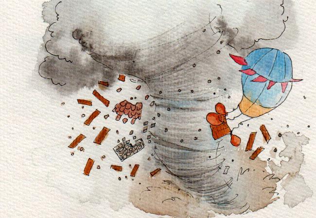 365-Tage-Doodle-Challenge - Stichwort: Sturm