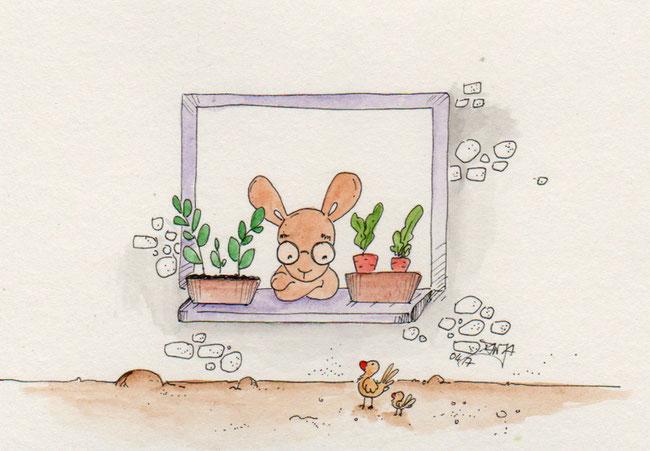365-Tage-Doodle-Challenge - Stichwort: Fenster