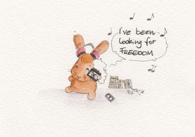 365-Tage-Doodle-Challenge - Stichwort: Kassette