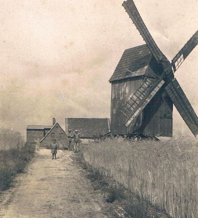 Fotovorlage: Windmühle