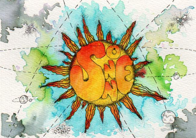365-Tage-Doodle-Challenge - Stichwort: Sonne