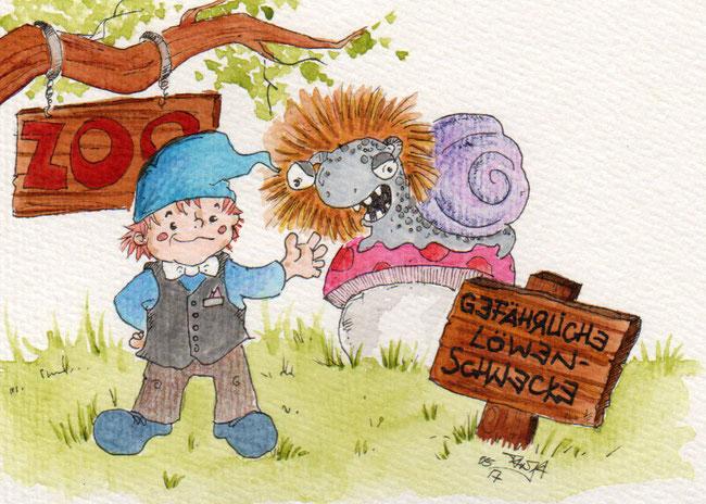 365-Tage-Doodle-Challenge - Stichwort: Zoodirektor