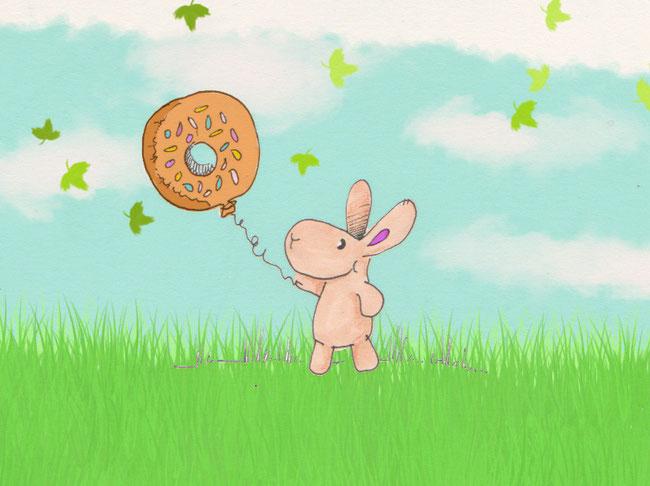 365-Tage-Doodle-Challenge - Stichwort: Donut