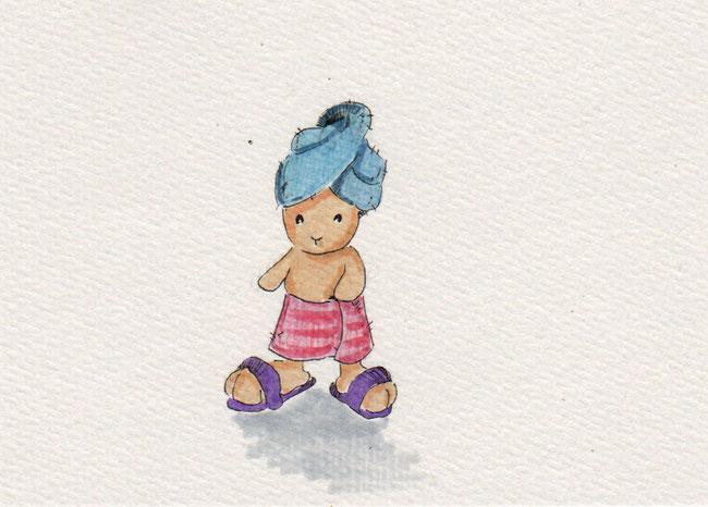 365-Tage-Doodle-Challenge - Stichwort: Handtuch