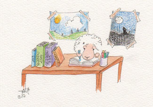 365-Tage-Doodle-Challenge - Stichwort: Skizzenbuch