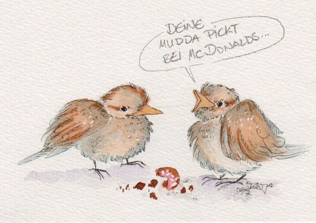 365-Tage-Doodle-Challenge - Stichwort: Vogel