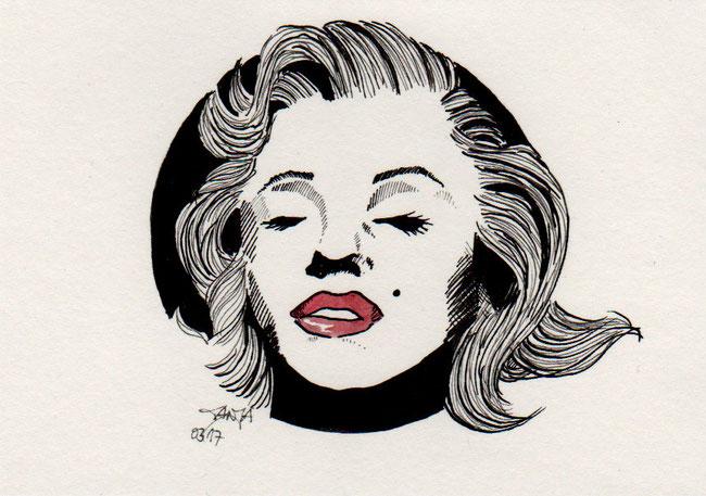 365-Tage-Doodle-Challenge - Stichwort: Lippenstift