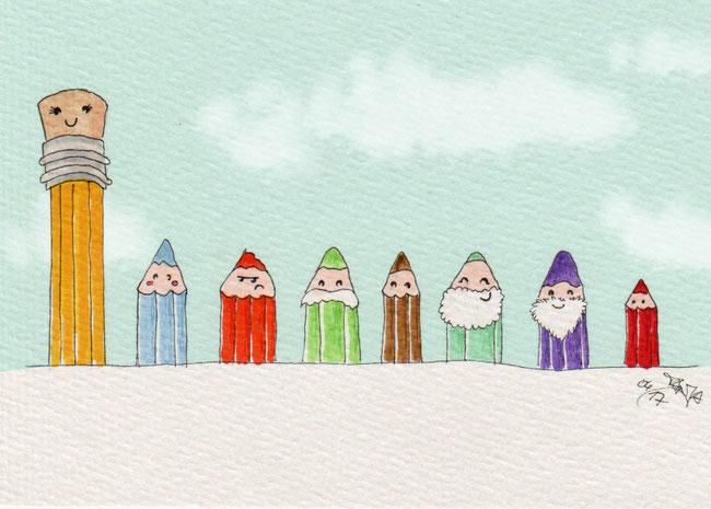 365-Tage-Doodle-Challenge - Stichwort: Bleistift