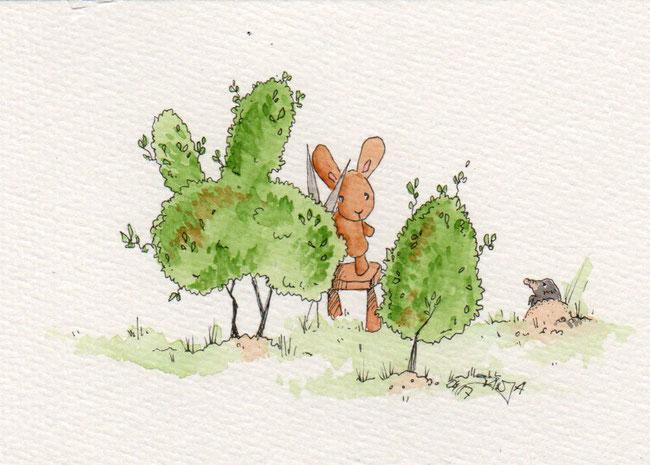365-Tage-Doodle-Challenge - Stichwort: Busch
