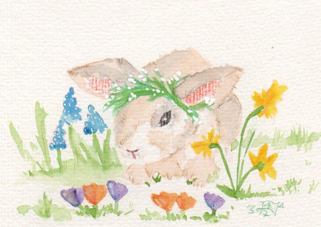 365-Tage-Doodle-Challenge - Stichwort: Frühlingsblumen