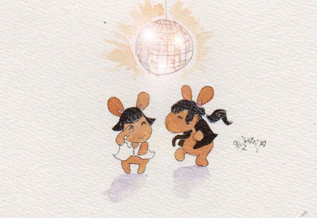 365-Tage-Doodle-Challenge - Stichwort: Tanzen