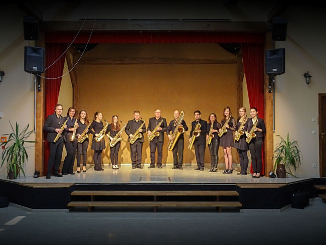 Sächsisches Saxophon Orchester 2016 im Traumpalast