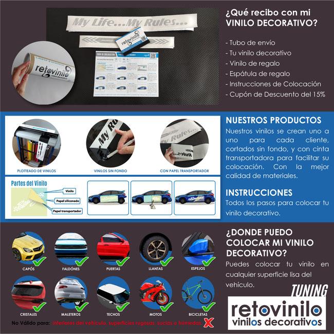 Retovinilo, vinilos decorativos, vinilos tuning, tuneo, coches personalizadostuning, coches, vehículos, pegatinas, vinilos personalizados