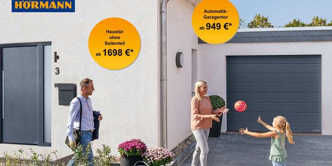 Angebot H Rmann Sektional Garagentore Montageservice