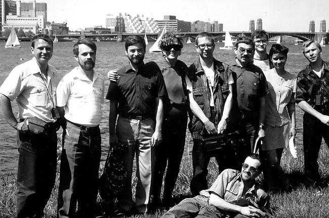 Делегація екоклубу в США (м.Бостон, 1993)