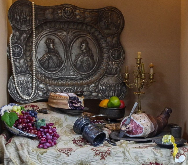 «Натюрморт «Розкішний сніданок» (автор ідеї – Світлана Копи лова).