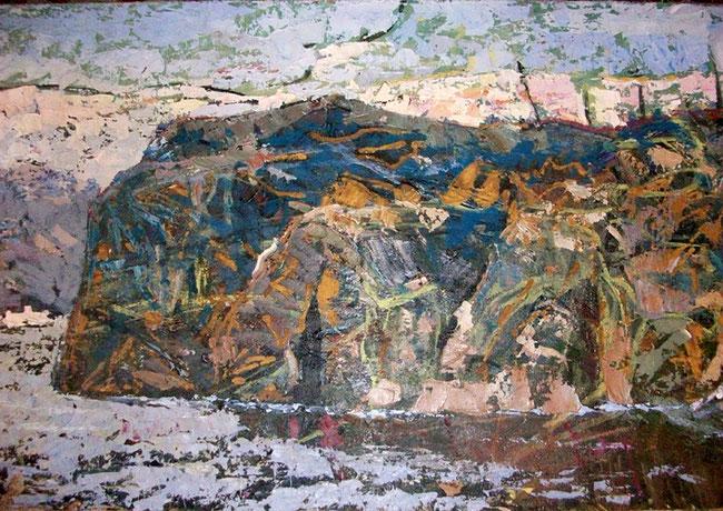 Л. Яворський. Форт Байди. 1964 р. 57×92,  холст, масло