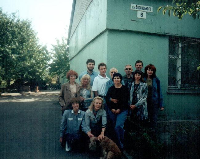 На вулиці імені Олександра Бодянського в м.Запоріжжя