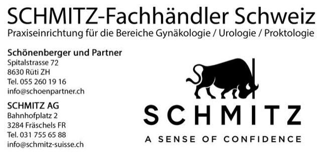 Schmitz Fachhändler Schweiz