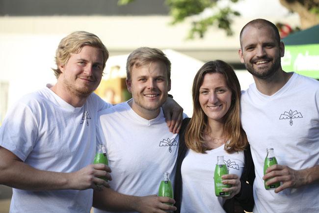 Das Gründerteam von Palmensaft - Das Kokoswasser StartUp