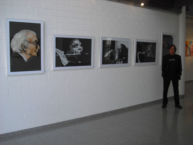 Jazz meets finearts, Galerie im Max Planck Institut Greifswald