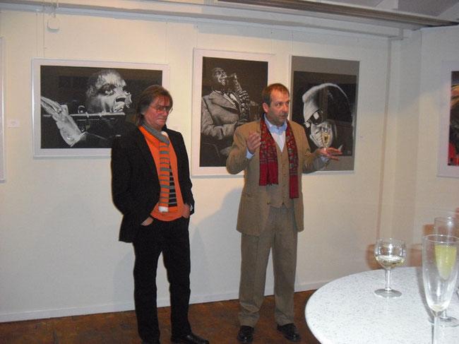 Jazz Heroes 2012,Galerie 2ter Blick, Lütjenburg