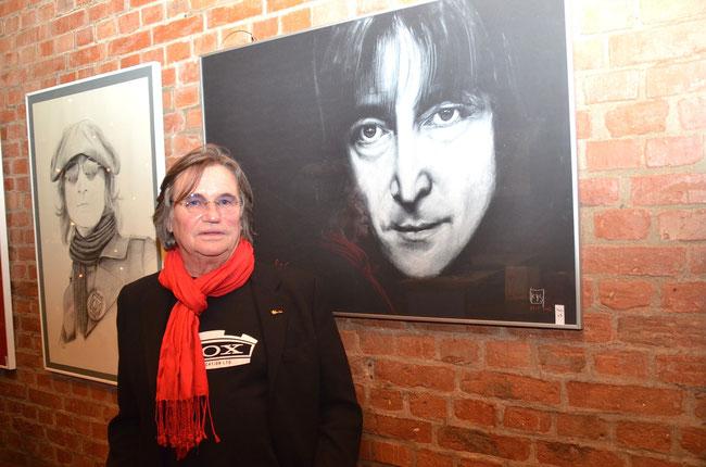 Ausstellung Remember John Lennon, Kisdorf , 13.12. 2014