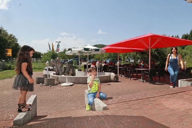 Gartenterrasse  Restaurant Venus Jestetten