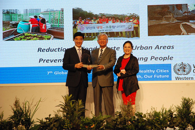 WHO-WPRO Healthy Cities Best Practice Recognition for  Gandong-gu