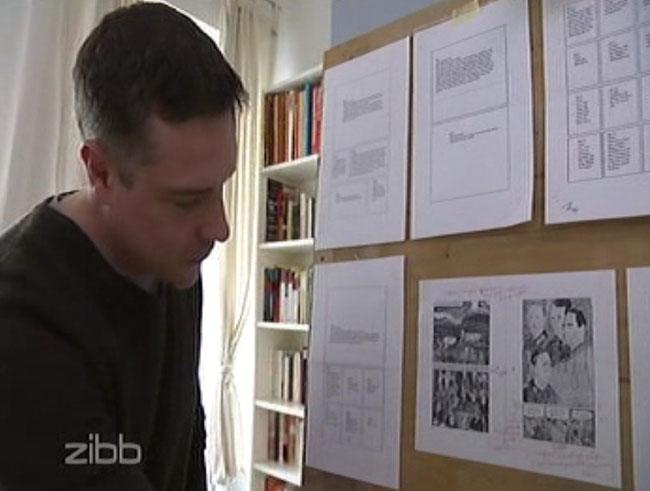 Die gezeichnete Biografie des Lebens der Jazz-Legende Coco Schumann. Hier ein Bericht des RBB / zibb. Der Zeichner Niels-Schröder erläutert das Projekt des biografischen Comics.