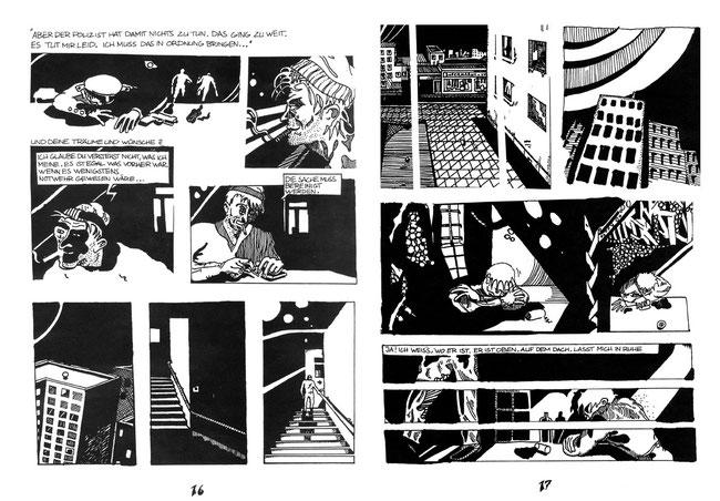 Niels-Schröder zeichnete vor etlichen Jahren eine kurze Graphic-Novel Geschichte für das Comic-Magazin Panel aus Bremen. © nils-schroeder