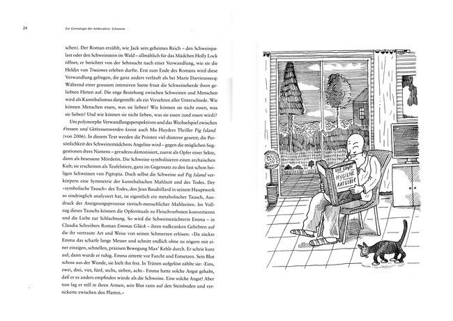 """Niels-Schröder zeichnete für die Vontobel-Stiftung eine Serie von Cartoons und Zeichnungen für das Buch """"Keimfrei"""" von Professor Thomas Macho, Berlin. © niels-schroeder.de"""