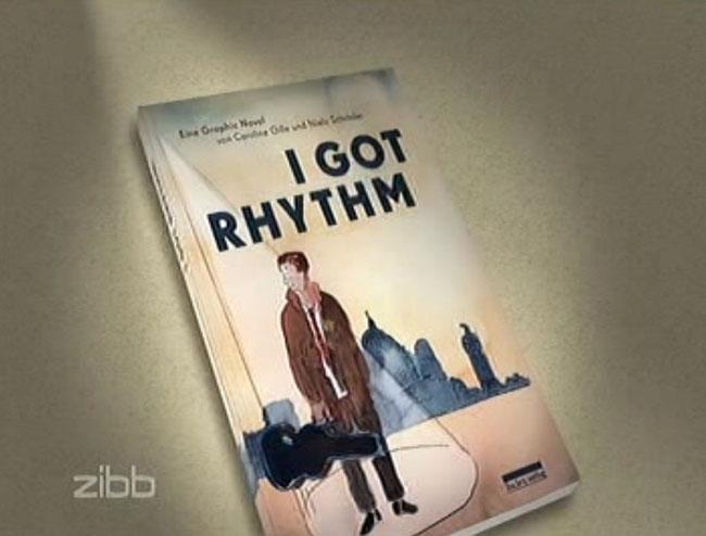 """Coco-Schumann, Jazz-Legende und Holocaust-Überlebender aus Berlin wurde am 14. Mai 2014 neunzig Jahre alt. Der RBB berichtete - und auch über die Graphic Novel """"I got Rhythm"""" / be.bra Berlin."""