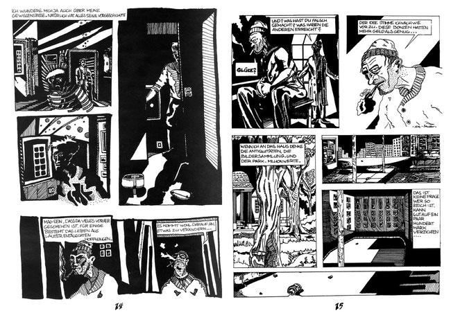 """Im Bremer Comic-Magazin """"Panel"""" erschien vor langer Zeit eine Comic-Kurzgeschichte des Bremer Zeichners Niels-Schröder. © niels-olaf-schröder"""