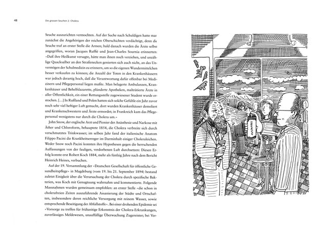 Der Zeichner Niels-Schröder zeichnete eine Serie von Cartoons für die Vontobel Stiftung Zürich zu einem Buch von Professor Thomas Macho, Humboldt Universität Berlin. © Niels Schröder
