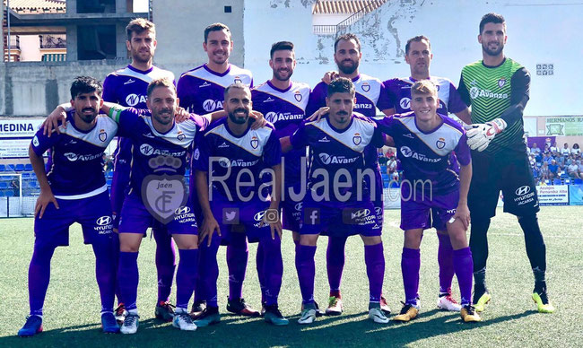 Real Jaén team 2018 - 2019