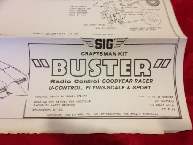 SIG RC Kits 1-20 - SIG's Model Aircraft Kit and ARF History