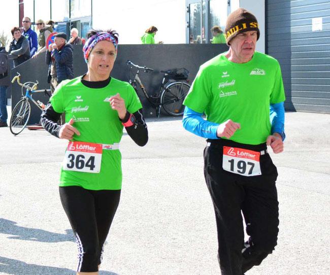 Seit Februar 2017 im Verein: Regina und Georg (© http://www.sportundfun-ried.at)