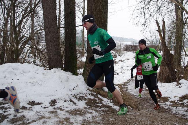 Wieder im vorderen Feld zu finden: Reinhard und Stefan (© http://union.neuhofen.at)