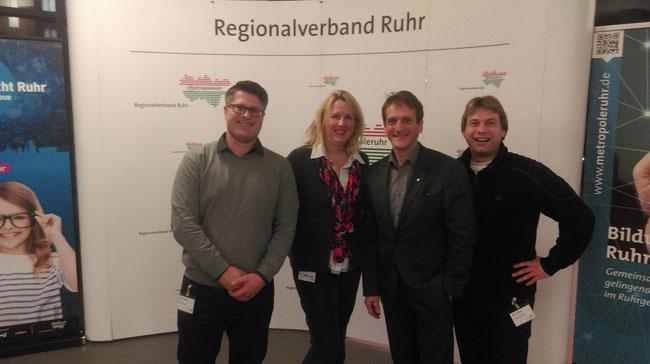 v. l.: Christian Leson, Christine Dohmann, Thomas Boos, Thorsten Leineweber
